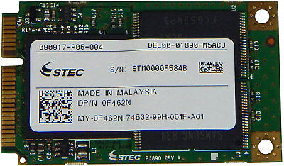 "Dell Latitute XT2 64GB 1.8/"" SATA SSD Drive w Tray 8KVTP"