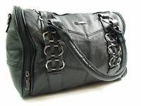 LADIES HIGH QUALITY REAL SOFT LEATHER DESIGNER BAG MESSENGER SHOULDER HANDBAG
