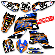 2008 2009 2010 KTM EXC XCF 125 250 300 450 530 GRAPHIC MOTOCROSS DIRT BIKE DECAL