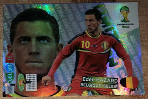 Eden Hazard Limited Edition World Cup 2014 Card Panini Adrenalyn XL World Cup