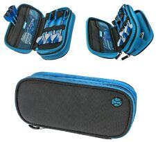 Harrows LARGE Z800 Darts Case/Wallet Black and Blue