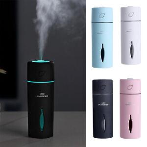 Portable-Mini-LED-Humidifier-Car-Air-Purifier-Oil-Aroma-Diffuser-Cool-Mist-USB