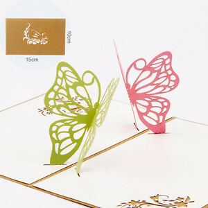 3D-Pop-Up-Two-Butterfly-Greeting-Cards-Christmas-Birthday-Valentine-Invitation