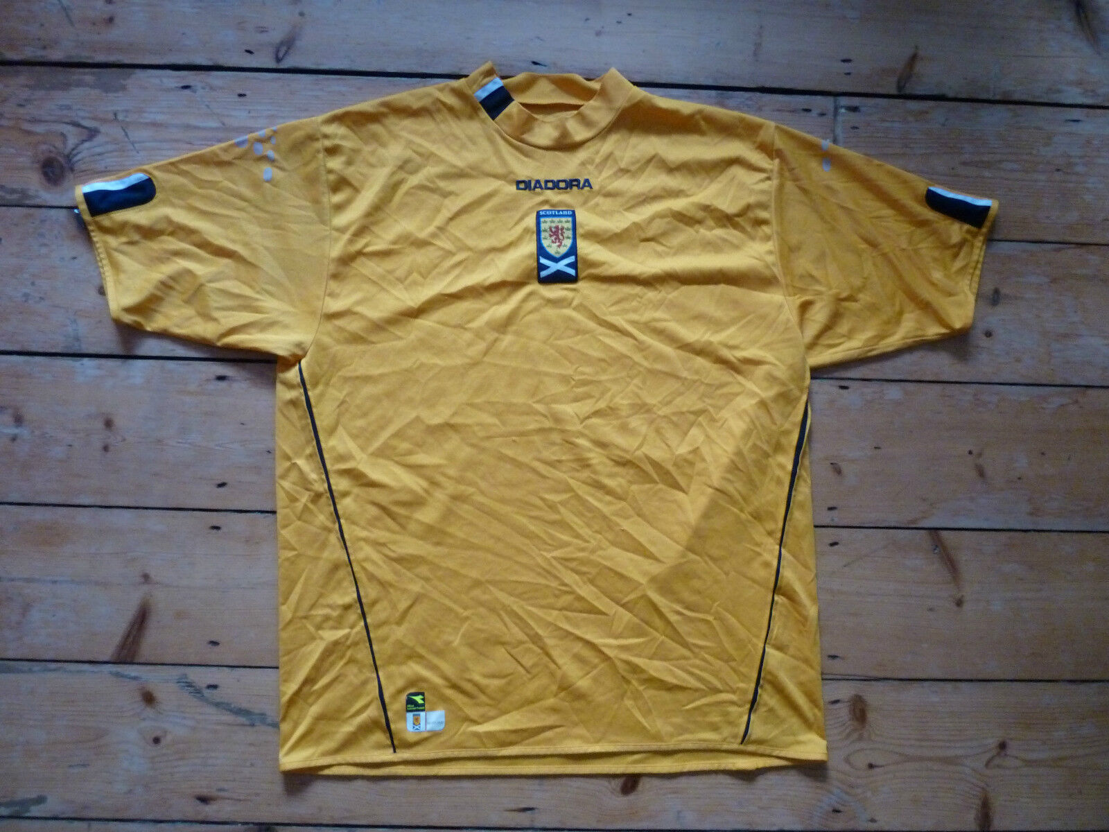 Schottland Fußball Trikot XXL 2000 Schottische Maglia Tartan Army 3.