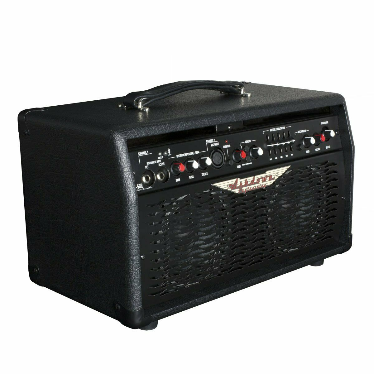 Ashdown AA50R Professional Acoustic Guitar Amplifier with Reverb & Blautooth