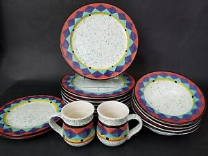 4-Treasure-Craft-Paradise-Dinner-Plates-11-1-2-034-Southwest-Motif