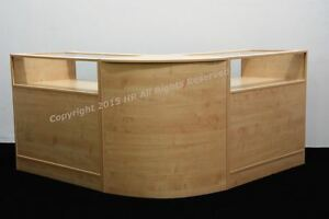 NEW-MAPLE-Glass-Shop-counters-FREE-DELIVERY-TOP-QUALITY-SET-OF-3-UNITS
