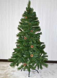 150-180cm-Arbol-Navidad-plastico-arbol-de-Guirnalda-luces-LED-NUEVO