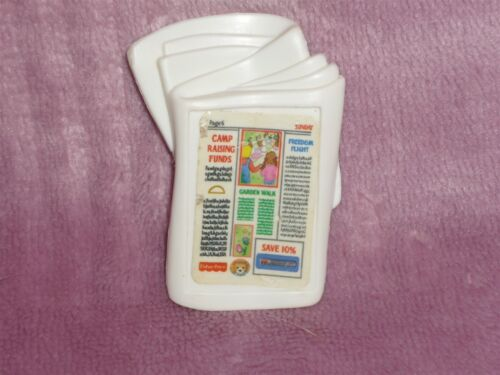 Fisher Price Loving Family Dollhouse White Daily News Newspaper #2