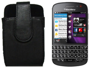 NEW-BlackBerry-Q10-Q5-Bold-9900-9930-OEM-Leather-Swivel-Case-Holster-Clip-Pouch