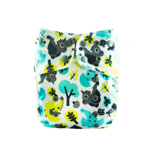 Limited Edition Lalabye Baby One Size Bamboo Cloth Diapers