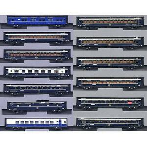 Kato-10-561-amp-10-562-Orient-Express-039-88-Nostalgie-Istanbul-13-Cars-Set-N
