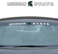 Ncaa Michigan State Windshield Decal, One Size, One Color