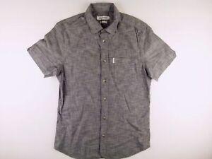 KS692-Ben-Sherman-Bella-Puro-Cotone-Soho-Slim-Fit-Camicia-Taglia-S-come-mai-indossato