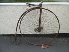 victorian penny farthing bicycle one owner and photos