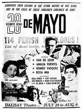 28 de Mayo Movie Poster 14x20 inches