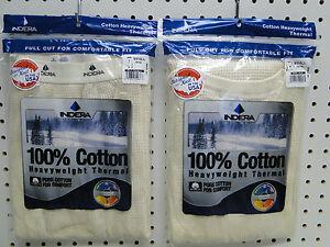 Men-039-s-100-Cotton-Heavyweight-Thermal-Underwear-Set-Small