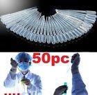 FD4586 New 3ML Disposable Plastic Eye Dropper Transfer Graduated Pipettes 50PC✿