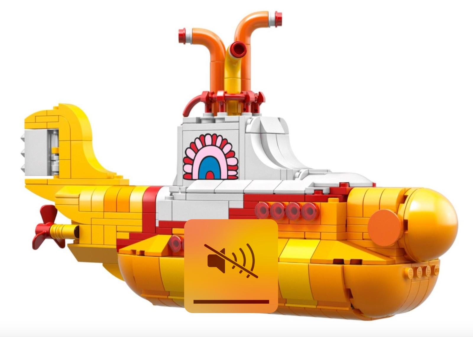 Lego 21306 Ideas The Beatles Gelb Submarine NO Minifigures
