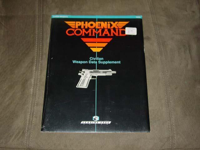 Phoenix Command-civil arme Données supplément -  10202 - LEADING EDGE Games