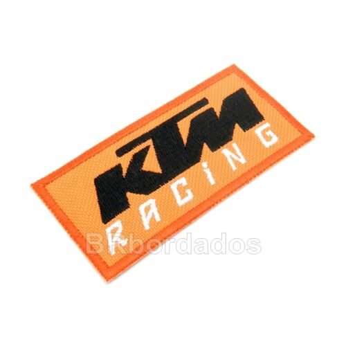 jacket or shirt MOT209 KTM racing Moto GP Embroidery Patch Iron or Sew to Suit