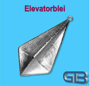 Elevatorblei-142g-200g-Stroemungsblei-Angelblei-Grundblei-Karpfenblei-mit-Ose