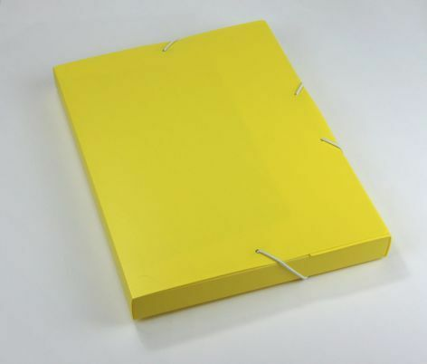 Heftbox PP A4 32mm Opak robust gelb