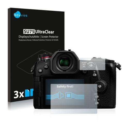 6x Panasonic Lumix DC-G9 Clear Screen Protector Protective Film Screen Protector