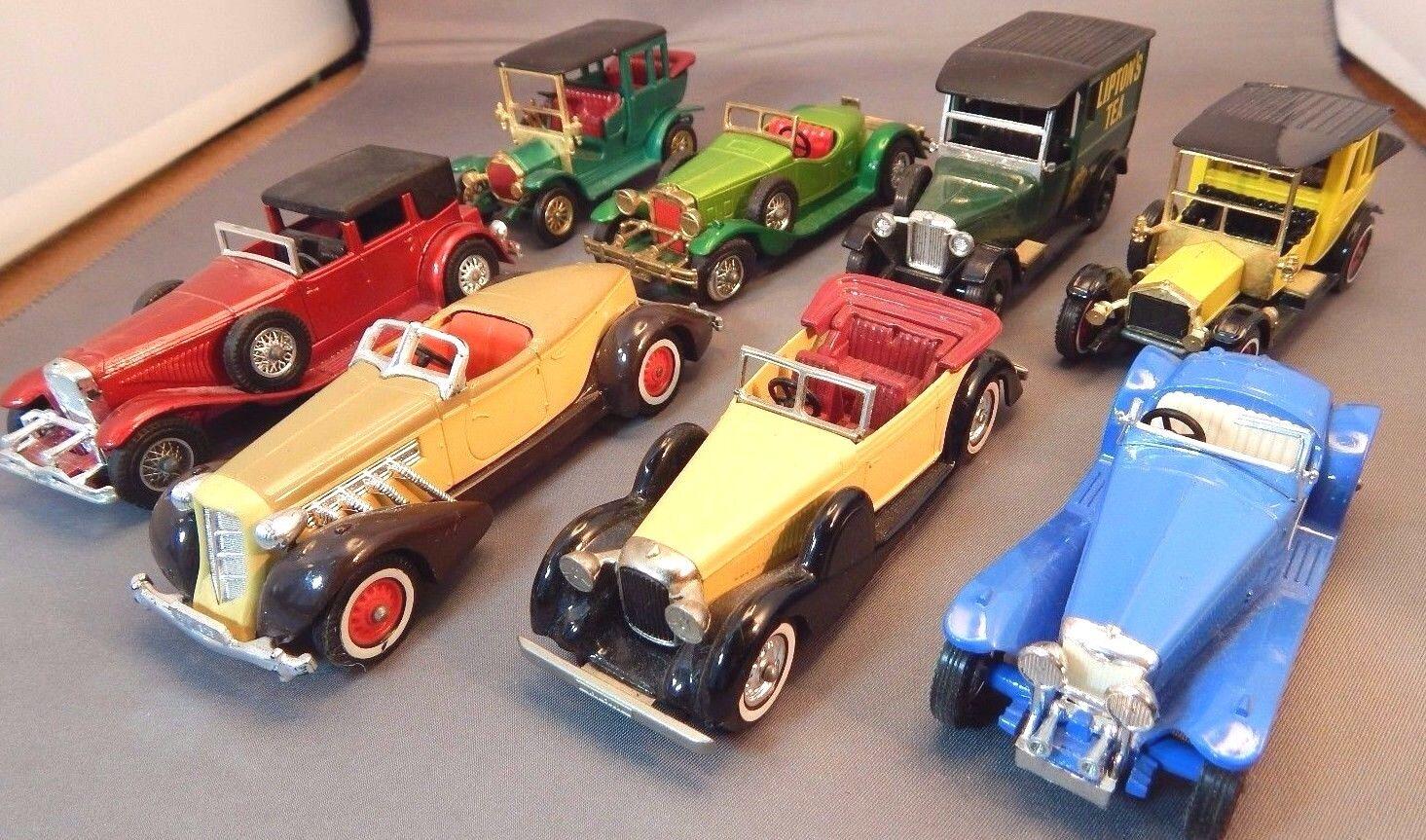 100% a estrenar con calidad original. Lote de ocho autos autos autos Matchbox Lesney Diecast Models of Yesteryear Excelentes Condiciones Usado Sin Caja  Seleccione de las marcas más nuevas como
