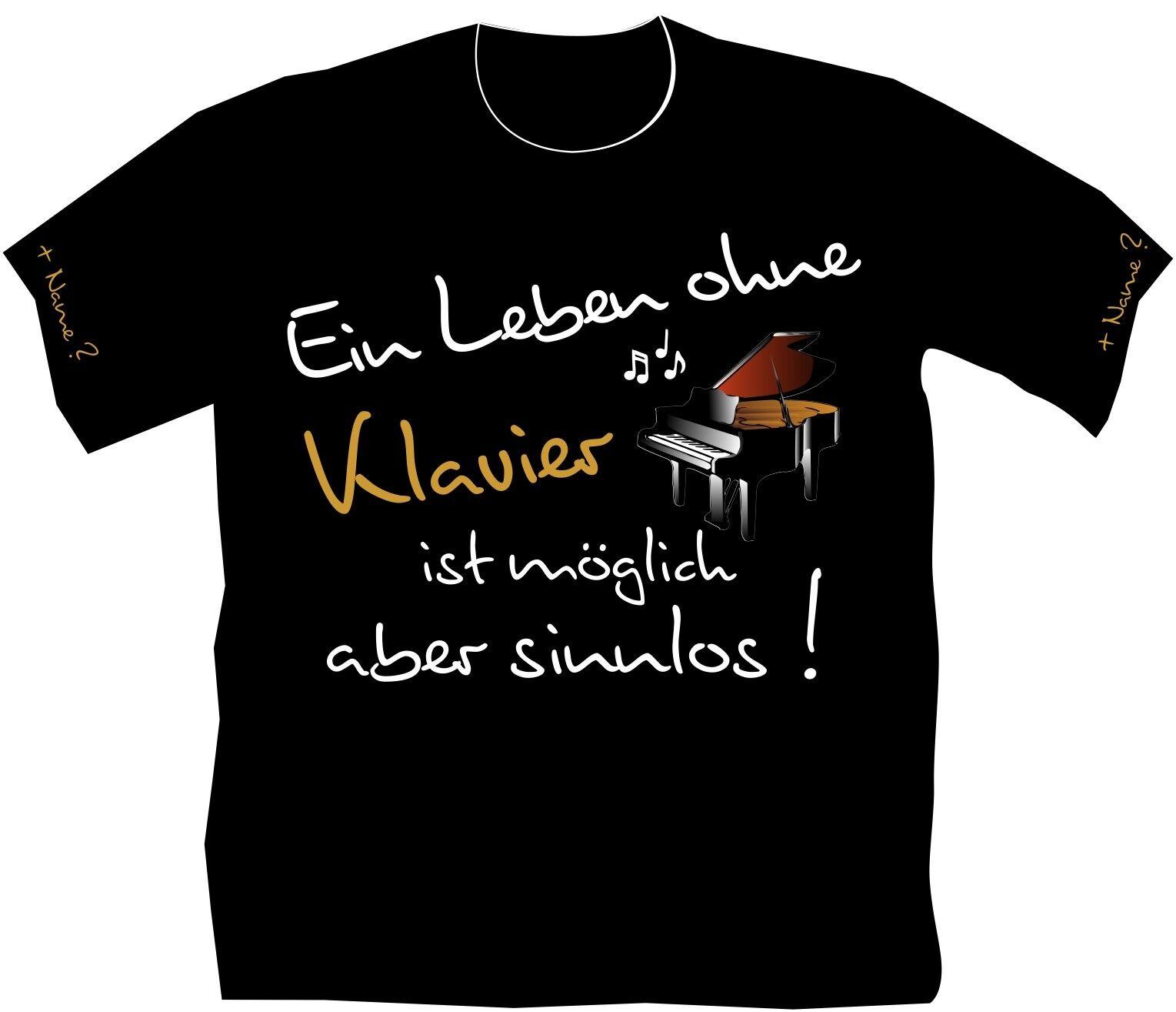 066ce366270cb7 T-Shirt Poloshirt Pianist Klavier Schüler Lehrer Musikschule Klavierschule 5