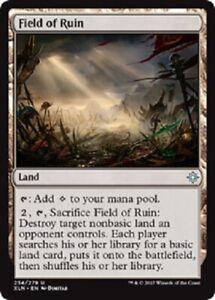 NM-Mint MTG X1: Field of Ruin FREE US SHIPPING! U Ixalan