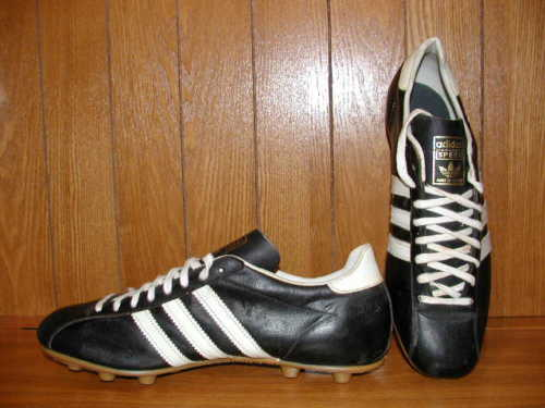Vintage años 70 Zapatos botas De Fútbol Adidas velocidad Hecho En Francia Talla 12.5