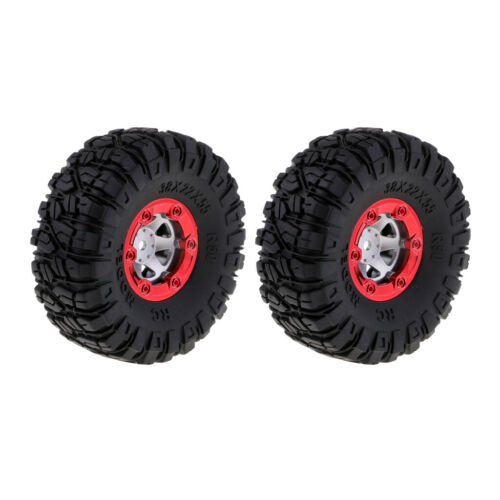 4x Quality Rubber Tires Tyre 12mm Wheel Hex for Wltoys 12428 12423 RC Models