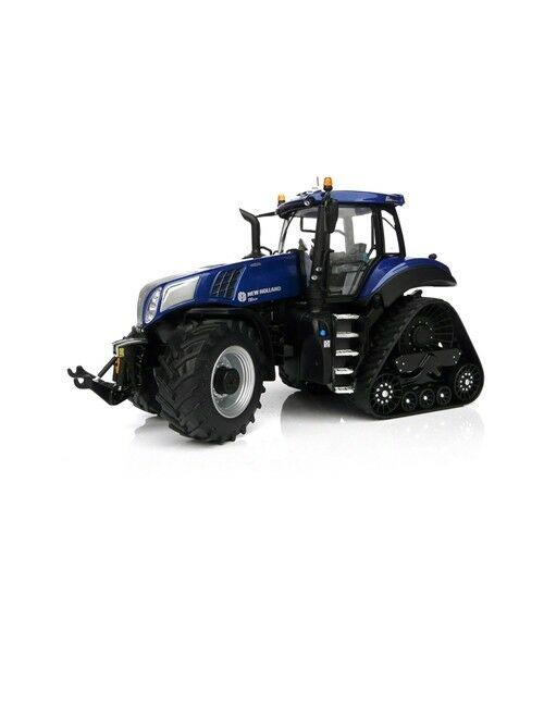 MERGE MODELS MODELLINO TRATTORE NEW HOLLAND T8.435 azul POWER  SCALA 1 32
