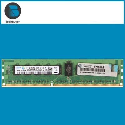 HP 4GB PC3-10600R 593339-B21 595424-001 591750-071 Memory
