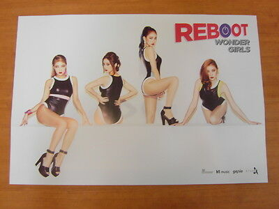 WONDER GIRLS - Reboot (Ver.A) [OFFICIAL] POSTER *NEW* K-POP