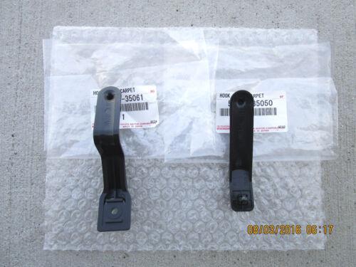 07-11 TOYOTA FJ CRUISER SET OF 2 FLOOR MAT CLIP CARPET CLIP NEW 35061 /& 35050