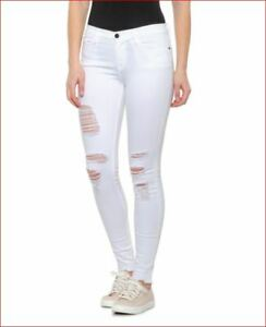 new Frame women jeans Le Skinny 36FAV-01-23 LSJRRE403 white sz 23
