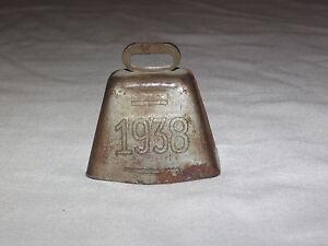 VINTAGE OLD 1938 RING FOR WICHITA KANSAS SOUVENIR METAL BELL