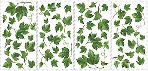 Http Www Ebay Com Itm Evergreen Ivy Wall Stickers 38 Decals Room Decor Leaves Kitchen Vines 311104609150