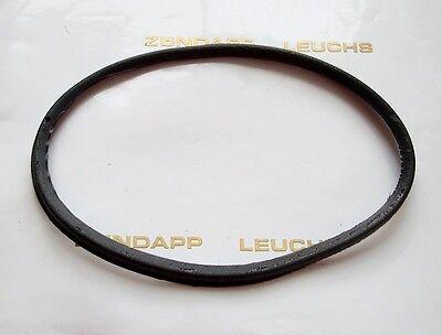 Zündapp Tacho Drehzahlmesser Ring 80mm Schwarz für Grüne VDO GTS 50 Typ 529