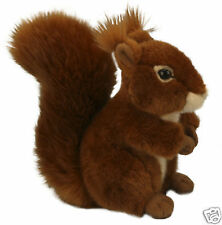 Living Nature Red Squirrel  Plush Soft Toy 20cm AN49