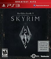 The Elder Scrolls V: Skyrim (sony Playstation 3, 2011) Brand New, Free Shipping