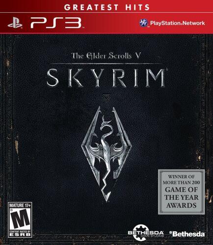 1 of 1 - The Elder Scrolls V: Skyrim (Sony PlayStation 3, 2011)  BRAND NEW, FREE SHIPPING