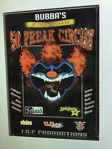 Freestyle-MX-Motorcycle-Action-amp-Adventure-R-Bubba-039-s-Flying-50-Freak-Circus-DVD