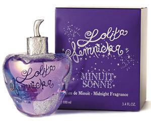 Lolita Lempicka MIDNIGHT MINUIT SONNE Perfume 3.4 oz EAU DE MINUIT 3.3 Women NEW