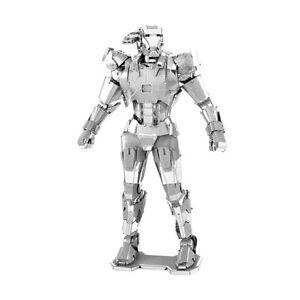 War-Machine-Marvel-Avenger-3D-Metall-Bausatz-Metal-Earth-3323