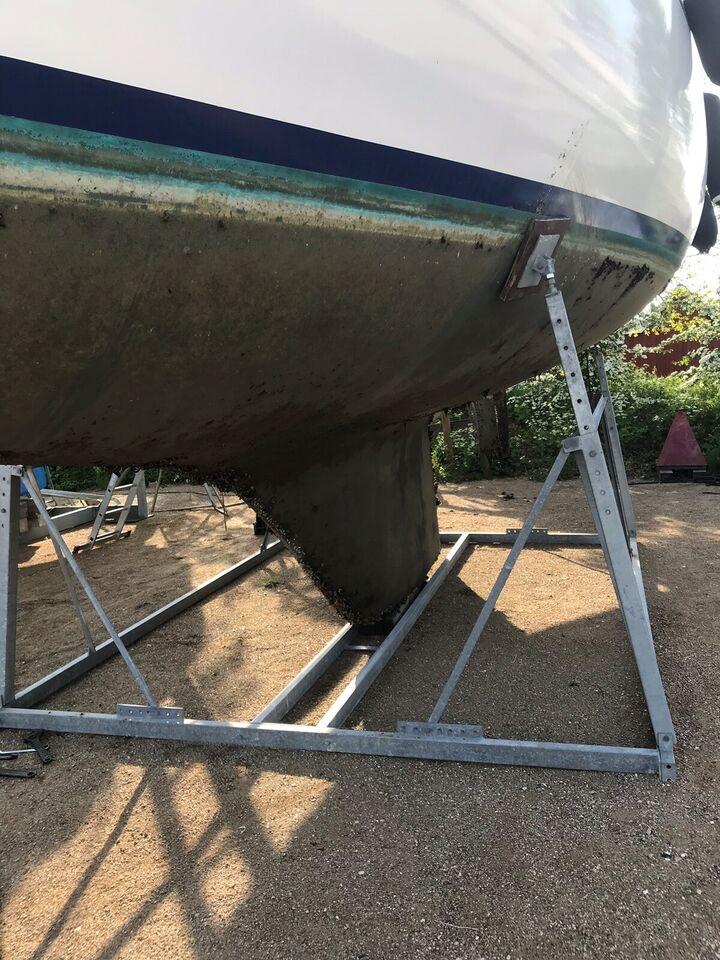 Galvaniseret bådstativ, passer til 37 fod. Kan...
