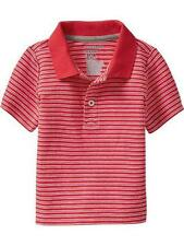 SFK Old Navy Striped Pique Polos Color: Mini Red Stripe shirt kids poloshirt