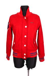 Superdry-Tokyo-Womens-Jacket-Baseball-Red-M